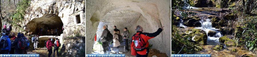 Valle del Foro - Mulini rupestri