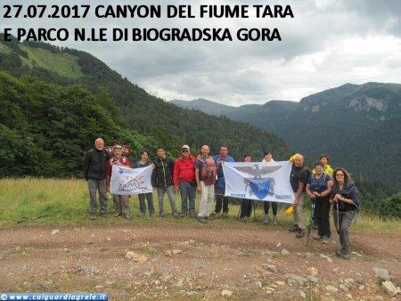 27.07.2017 CANYON DEL FIUME TARA E PARCO NAZIONALE DI BIOGRADSKA GORA(ph: Antonio Taraborrelli)